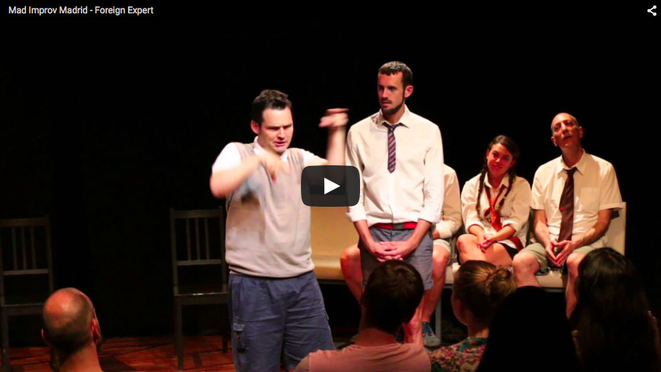 Mad Improv Madrid – Foreign Expert