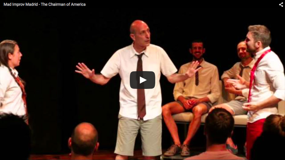Mad Improv Madrid – The Chairman of America